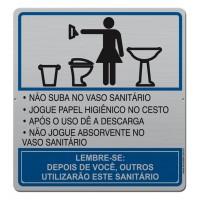 AL - 2005 - ORIENTAÇÕES BANHEIRO FEMININO