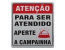 ATENÇÃO APERTE A CAMPAINHA