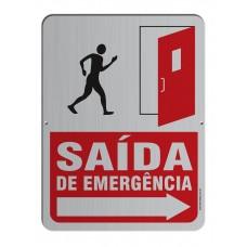 AL - 3005 - SAÍDA DE EMERGÊNCIA - Direita