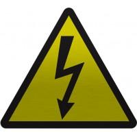 Placa de Identificação 100x100mm - Energia Elétrica