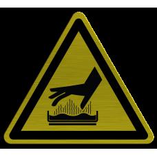 Placa de Identificação 100x100mm - Superfície Quente