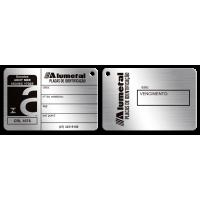 Placa de Ensaios ABNT NBR ISO 17025 frente e verso
